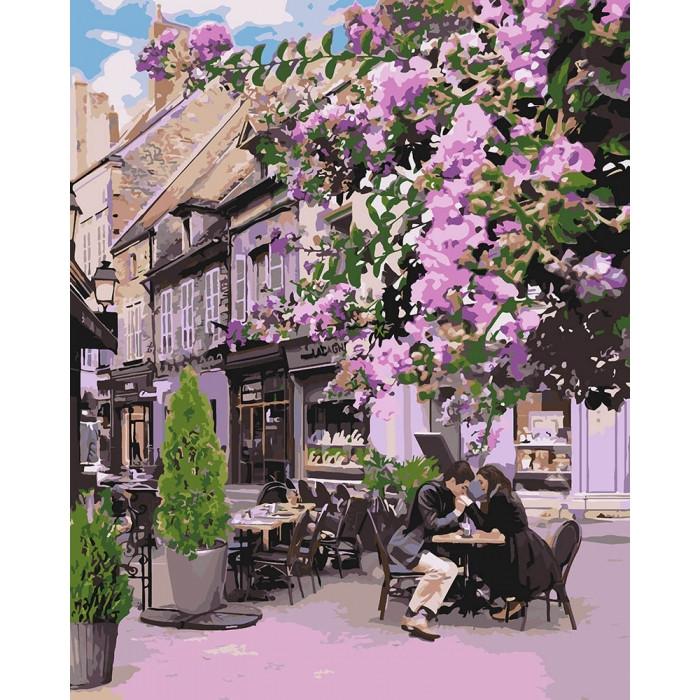 Картина по номерам Идейка - Уютный ресторанчик 40x50 см (КНО4653)