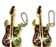 """Запальничка оригінальна у вигляді """"Гітара"""" газова подарунок сувенір"""