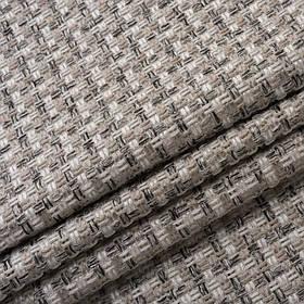 Обивочная ткань на диван рогожка Калифорния светло-серого цвета