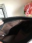 Сумка чорна замша+екошкіра,crossbody, фото 7