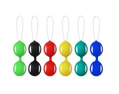 Вагинальные шарики Excequitiv (зеленый)