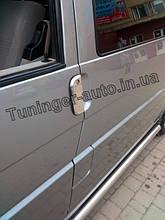 Хром-накладки на ручки Volkswagen Transporter T4 1990-2003 (Carmos/Турция)