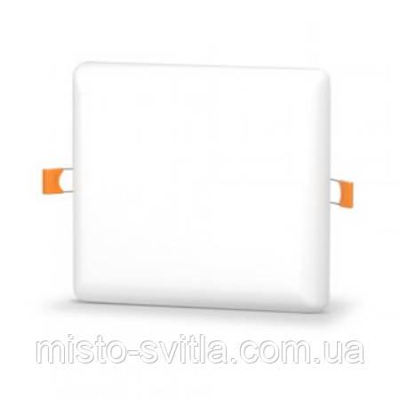 LED світильник безрамочний 15W VIDEX квадрат 4100K Відекс