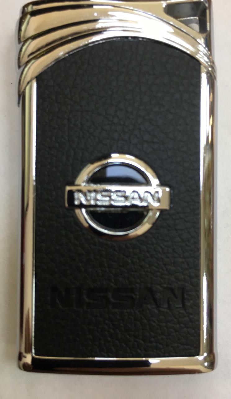 """Запальничка оригінальна у вигляді """"Nissan"""" газова подарунок сувенір 4848"""