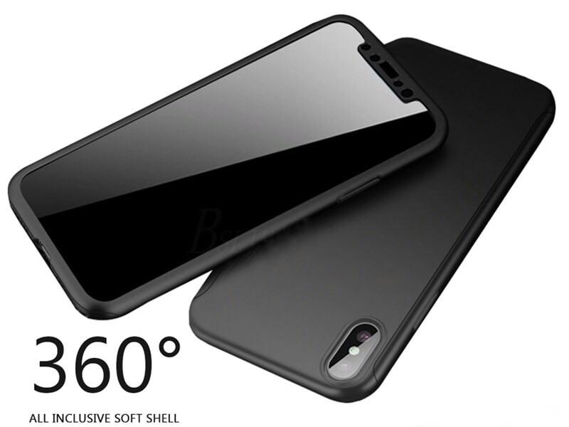 Чехол противоударный для IPhone XR+стекло в подарок, черный