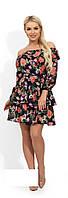 Сукня жіноча з квітковим принтом