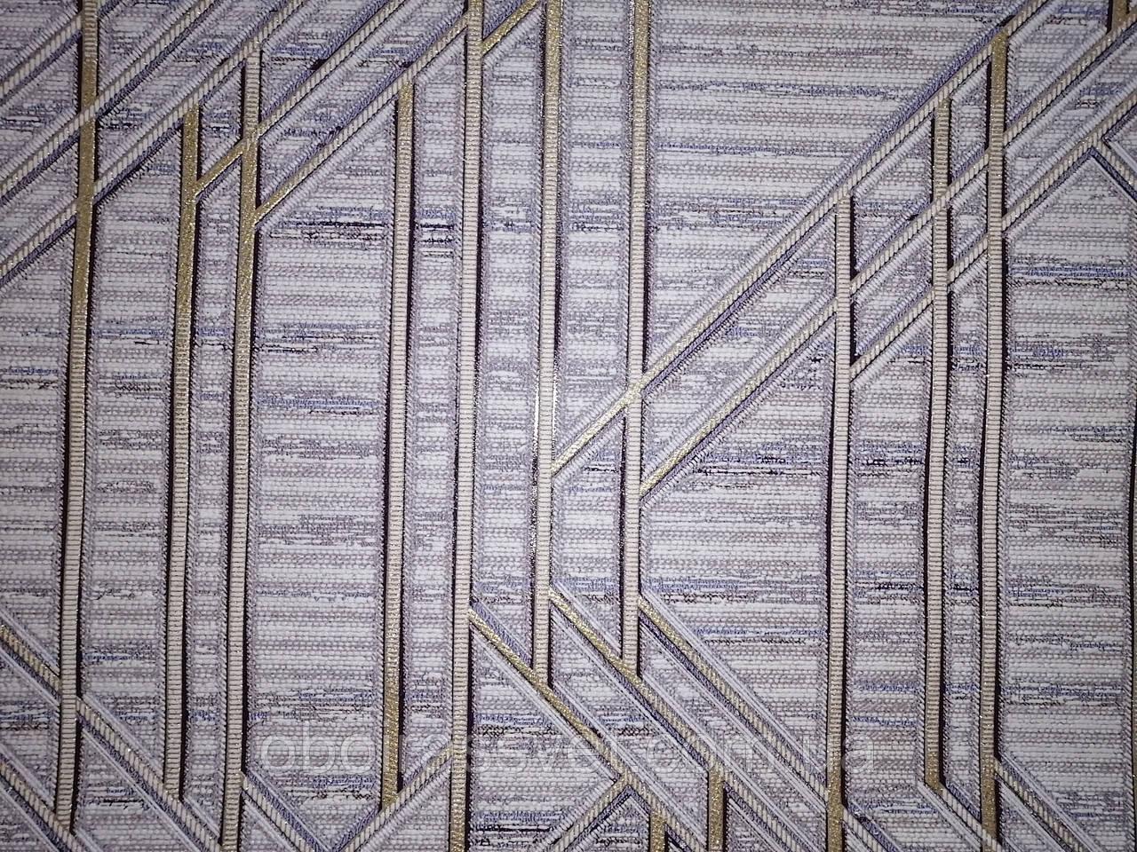 Обои 3679-06 ,виниловые на флизелине,длина 15 м,ширина 1.06 =5 полос по 3 м каждая