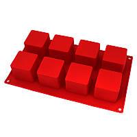 Силиконовая форма квадратики