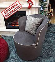 Кресло DAFNE коричневое с бежевым кантом LeComfort - Италия (бесплатная доставка)