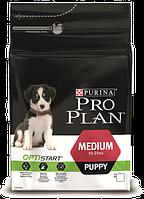 Pro Plan Puppy Medium корм для щенков средних пород с курицей, 3 кг