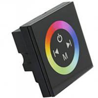 Контроллер RGB 12V 12А-Touch 4А/3канала 144W (сенсорная панель) черный