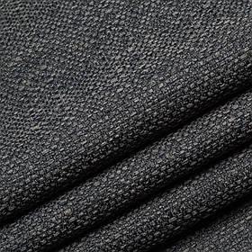 Обивочная ткань для дивана рогожка Портленд темно-серого цвета