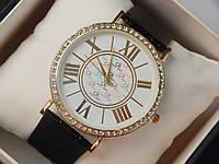 Мужские (Женские) кварцевые наручные часы Calvin Klein на кожаном ремешке, фото 1