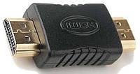 Переходник HDMI M/штекер-M/штекер Черный