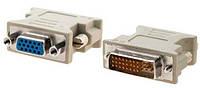 Переходник VGA F-DVI M Белый