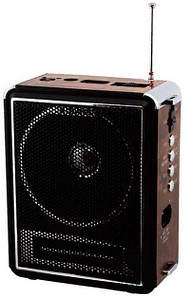 Радиоприемник Golon NS-083U-M Коричневый-Черный