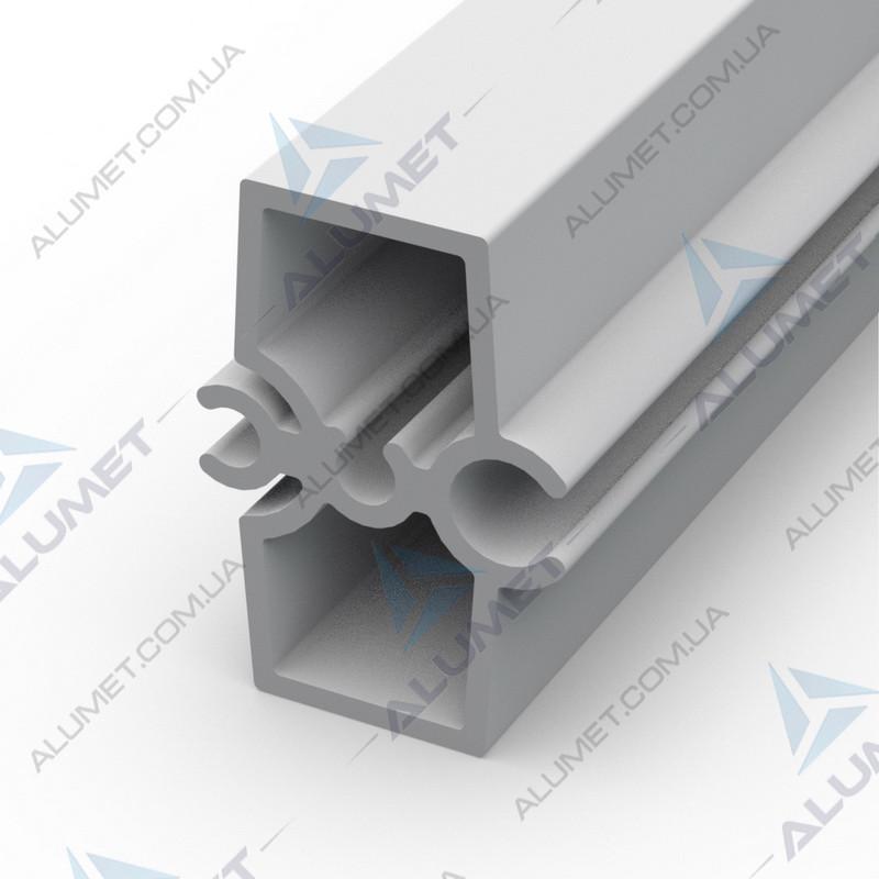 Профиль форма 35х18 мм для гнутых мебельных фасадов