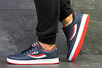 Кроссовки Fila   темно синие/красные