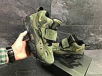 Кроссовки Nike, зеленые