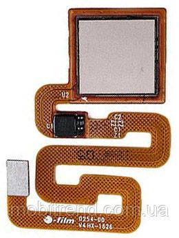 Шлейф сканера отпечатка пальца для Xiaomi Redmi 4X Золотой