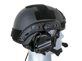 M32H Aktywne ochronniki słuch z mikrofonem na hełm FAST - BK [EARMOR] (для страйкбола), фото 3