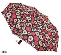 Зонт женский полуавтомат яркий цветы, фото 1