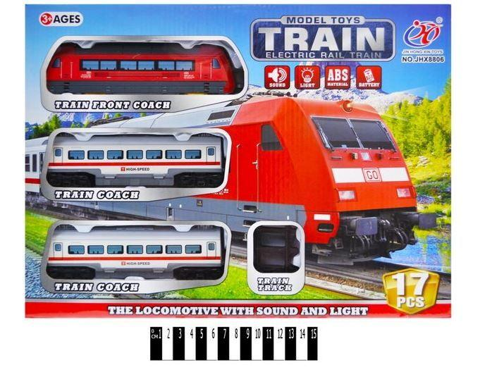 Детская железная дорога jhx8806