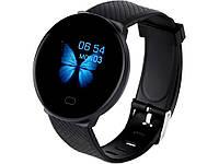 Розумні годинник Butterfly Bluetooth 4.0 для Android IOS  Чорний
