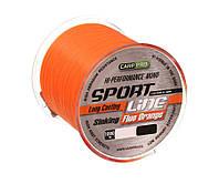 Леска Carp Pro Sport Line Fluo Orange 1000м 0.235мм