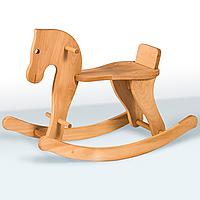 Деревянная лошадка качалка Гойдалка