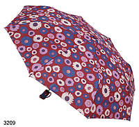 Зонт женский полуавтомат рисунок цветы, фото 1