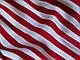 Ткань Коттон сатин полоска 10 мм, красная на белом, фото 3