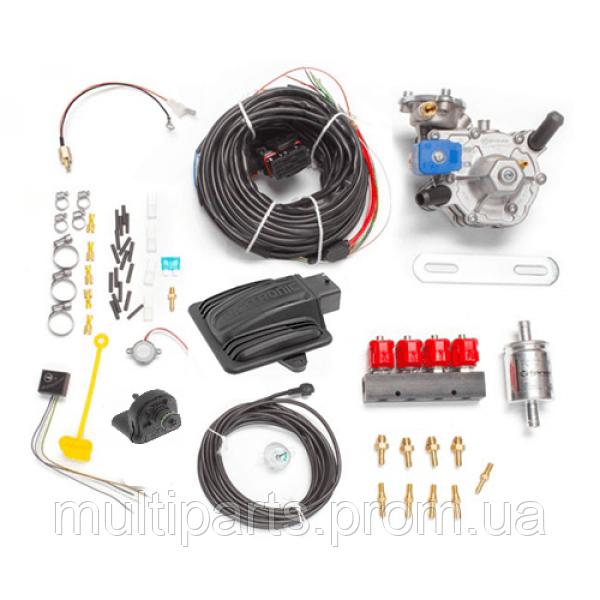 Миникомплект на 4 цил. Digitronic Maxi 2 редуктор Tomasetto Nordic форсунки Valtek 3 ohm