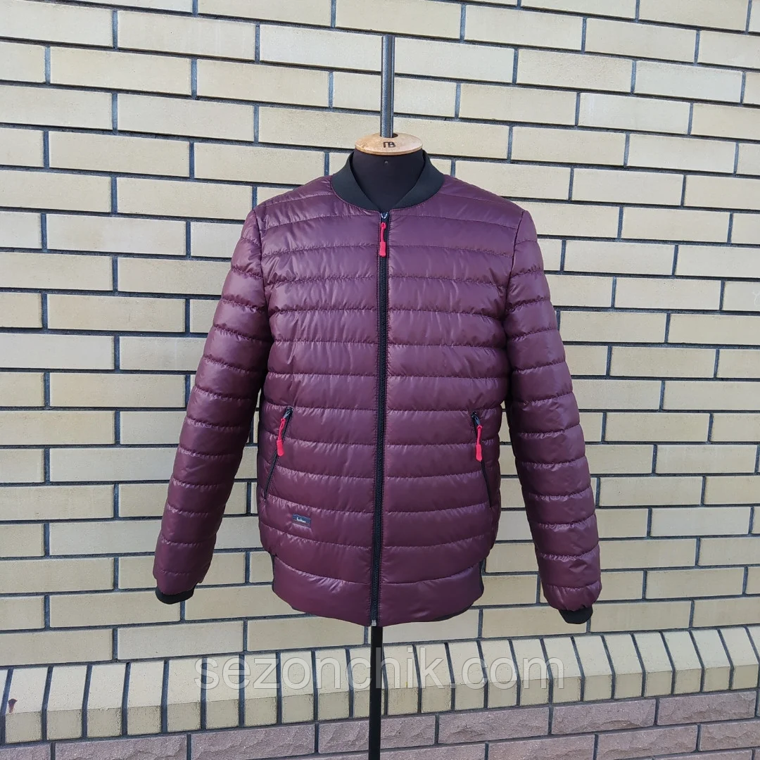 Демисезонная мужская модная куртка бомбер