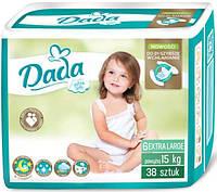 Подгузники Dada 6 Extra Large (15+ кг), 38 шт.