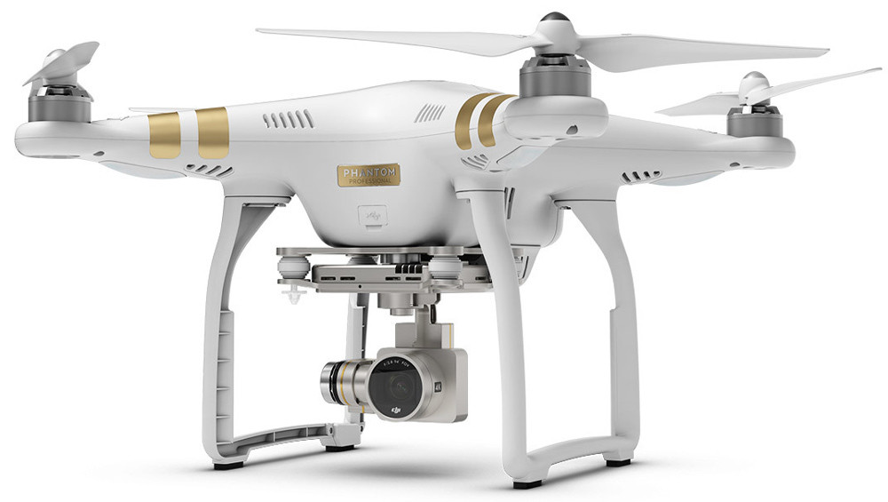Квадрокоптер DJI Phantom 3 Professional, дрон