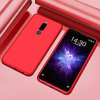 Чехол Style для Meizu M8 Бампер силиконовый красный