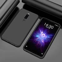 Чехол Style для Meizu M8 Бампер силиконовый Черный