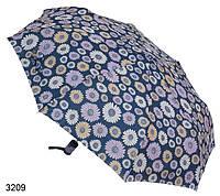 Женский полуавтоматический зонт с яркой расцветкой, фото 1