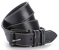 Современный мужской кожаный ремень GRANDE PELLE 00790 Синий, фото 1