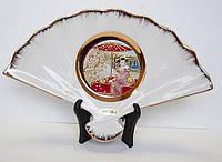 Сувенирный веер «Майко под сакурой»