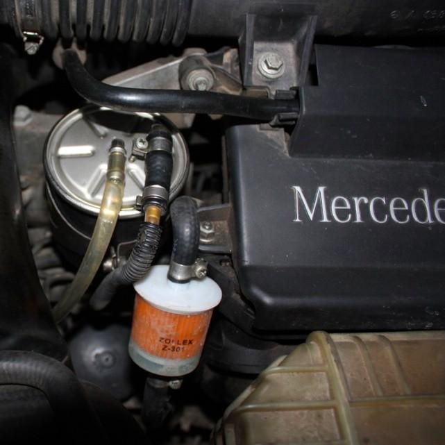 Замена фильтров в дизельных автомобилях