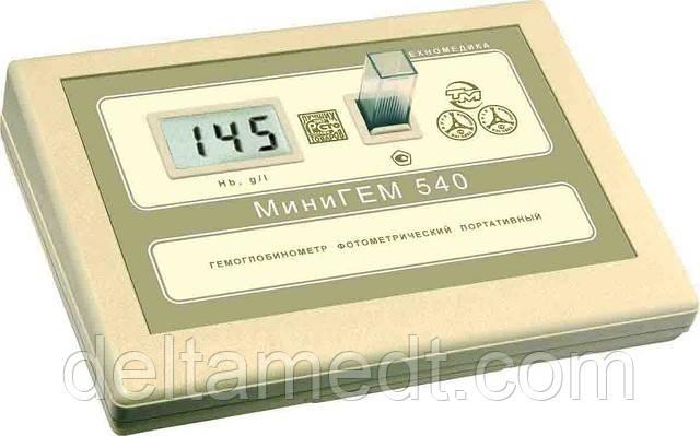 МиниГЕМ плюс — Портативный гемоглобинометр с автокалибровкой