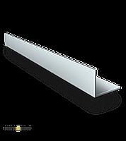 Уголок алюминиевый АД31 40х80х4 мм