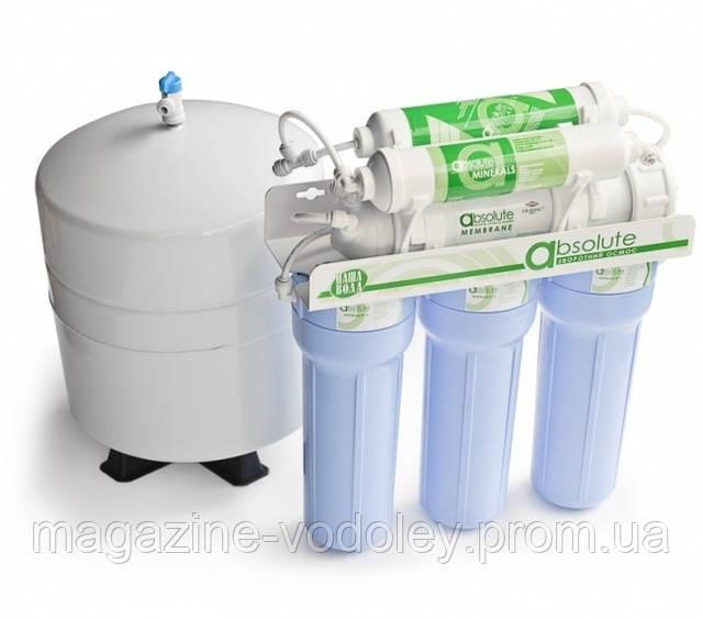 Система обратный осмос Наша вода с минерализатором (Украина Экософт)