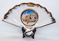 Сувенирный фарфоровый веер «Япония»