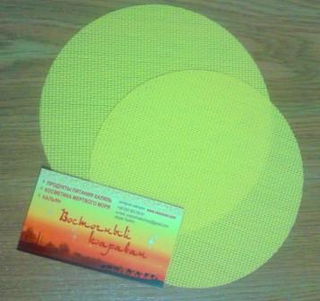 Дренажный коврик в форму для сыра