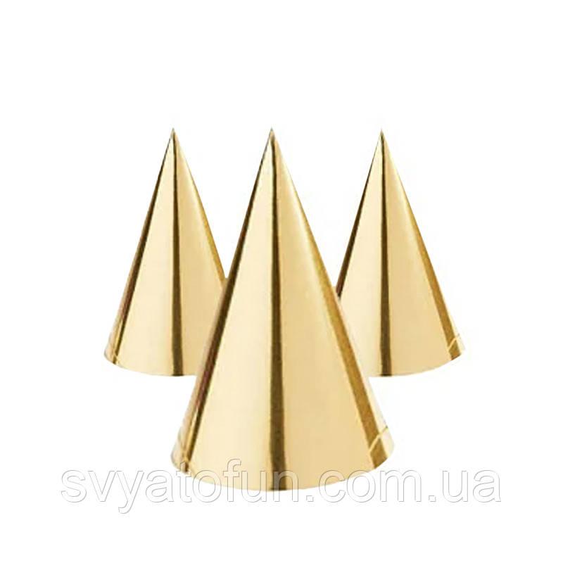 """Колпачок хром""""Gold"""" 15 см 20 шт/уп"""