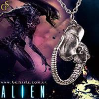 """Винтажная подвеска Чужой - """"Alien"""" + подарочная упаковка!"""