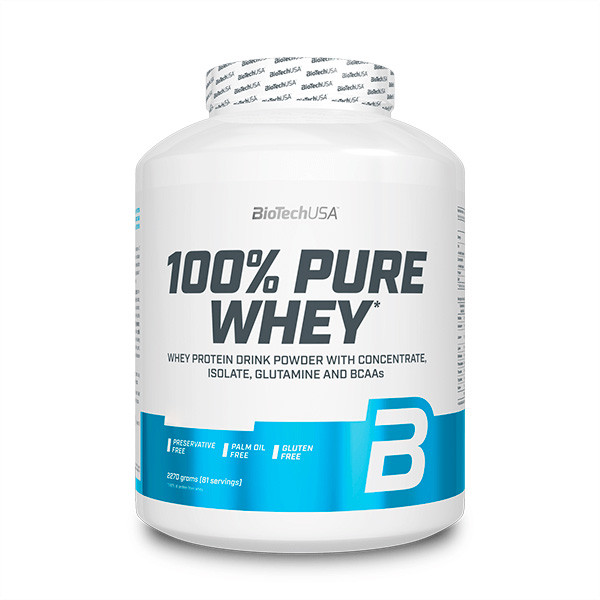 Протеин BioTech 100% Pure Whey, 2.27 кг Шоколад-кокос